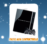 Instant Gagnant 1 Console de jeu Sony Playstation3 80 GO