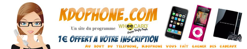 KdoPhone.Com Site de jeux a instants gagnants